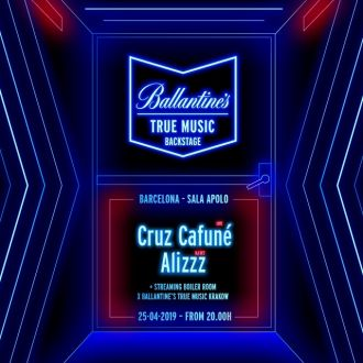 Milkshake | Ballantine's True Music Backstage: Cruz Cafuné [live!] + Alizzz Dj Set + Dj Stile & ADC